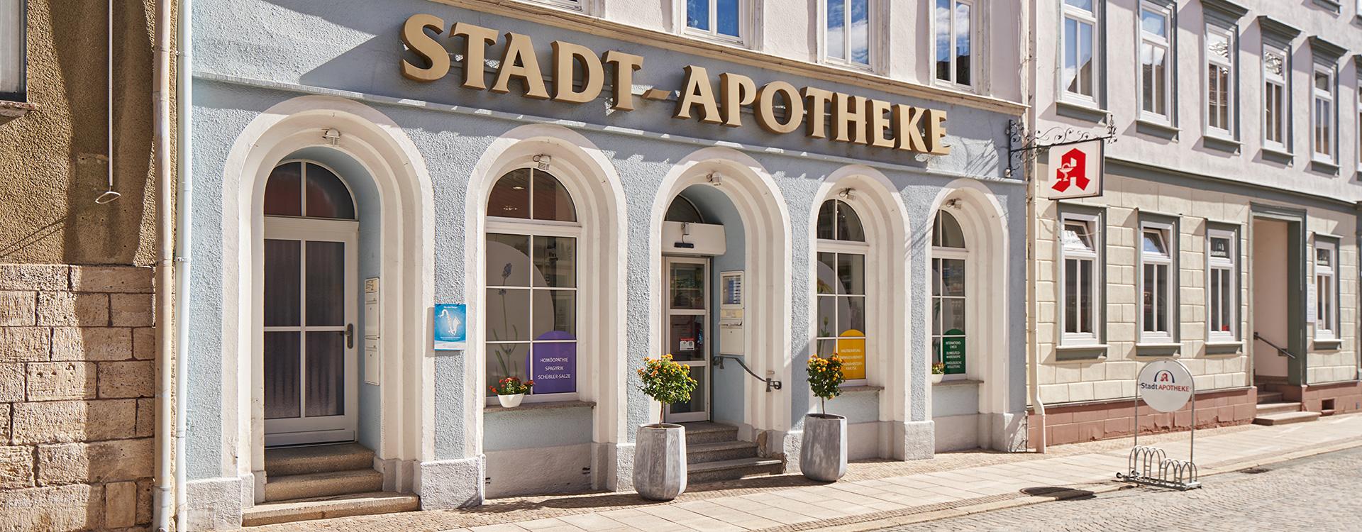 Stadt Apotheke Sondershausen Aussenansicht